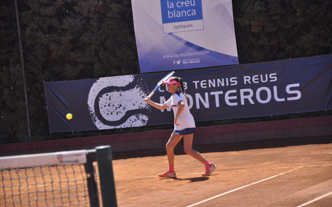 """Inici de la XXXIII edició del Trofeu """"La Creu Blanca"""" del Monterols amb la participació de més de 100 tenistes juvenils"""