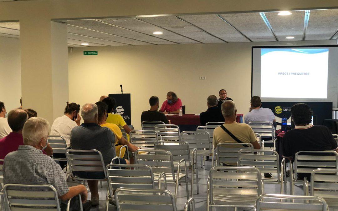 El Club Tennis Reus Monterols celebra l'Assemblea General de Socis