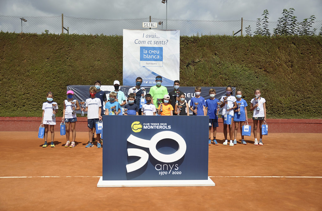 """Match point"" del trofeu juvenil de tennis La Creu Blanca del Monterols"