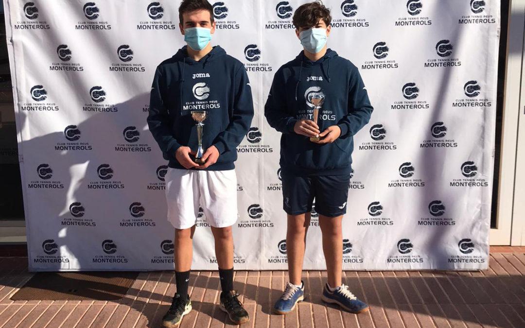 Resultats dels jugadors del Monterols en el Circuit de Tennis Juvenil Promeses