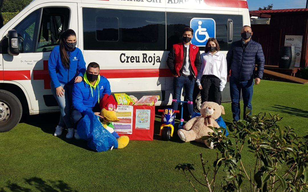 Recollida de joguines solidària per la Creu Roja