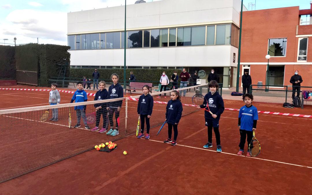 Jornades d'aprendre a comptar per als alumnes de l'escola de tennis