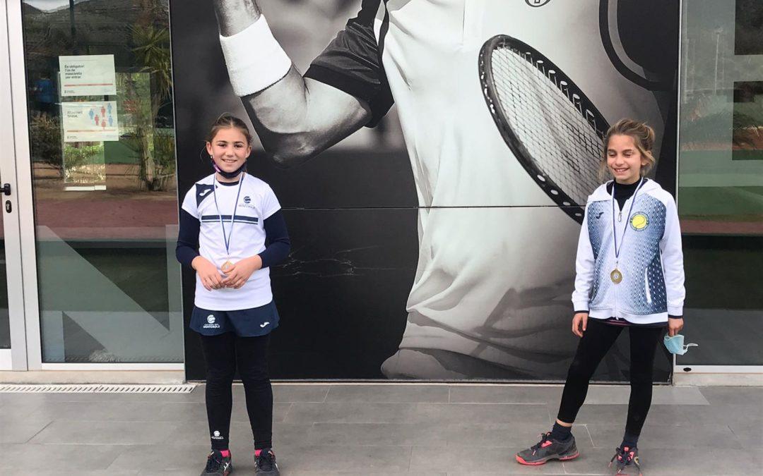 Resultats dels jugadors i jugadores del Monterols que han participat al Circuit Albert Montañés de tennis