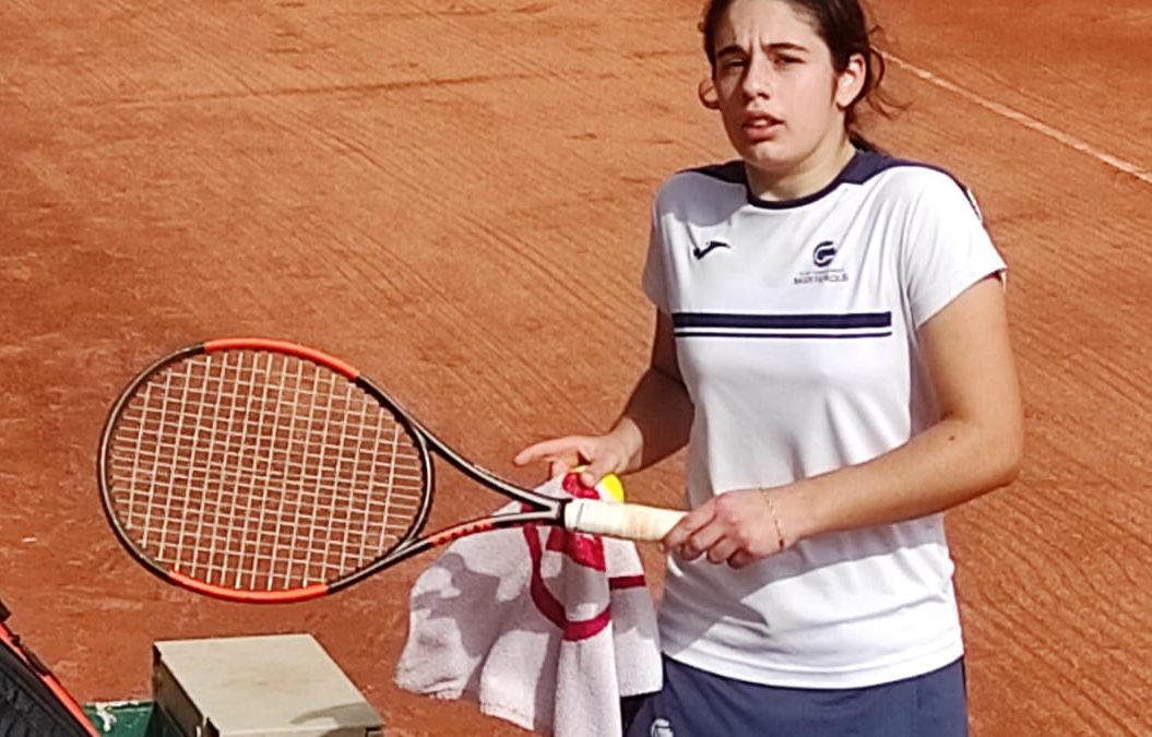 Àngela Pérez es planta a semis del Catalunya Júnior Individual de tennis