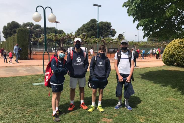 Derrota de l'Infantil Masculí B davant el Tennis Tarragona en la Lliga Catalana de tennis