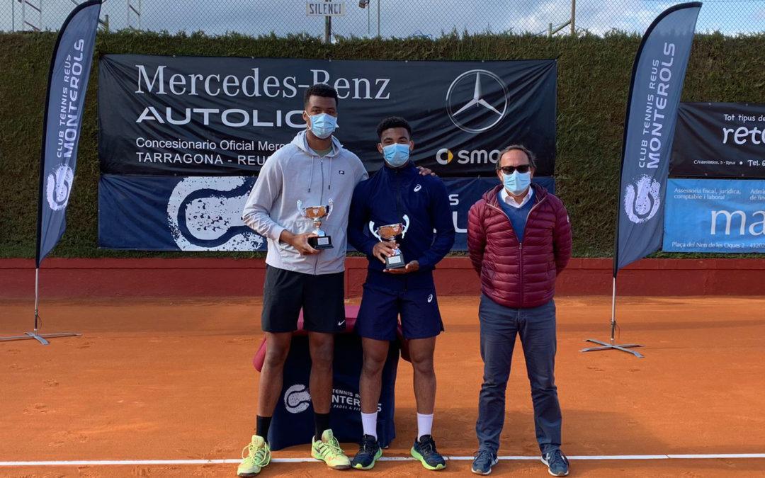 Arthur Fills i Giovanni Mpetshi, campions de dobles de l'ITF World Tennis Tour Autolica Mercedes-Benz del Monterols