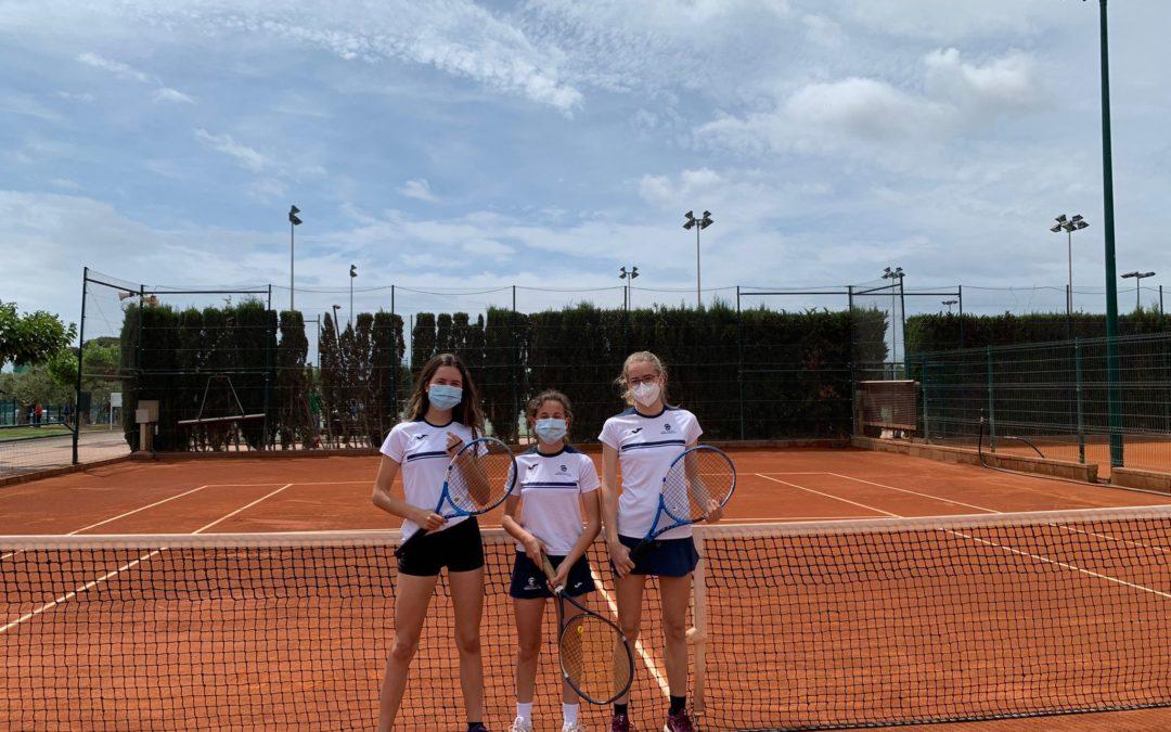 L'Infantil femení empata contra el CT Romaní en la Lliga Catalana de tennis