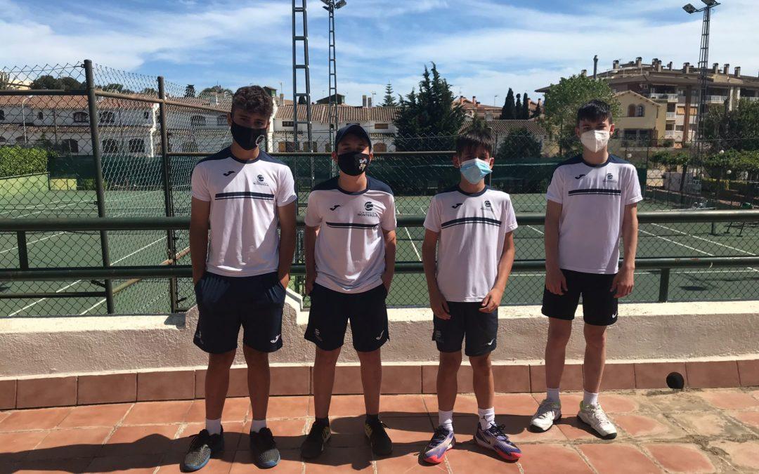 Derrota de l'Infantil Masculí B contra el CT Barà en la Lliga Catalana de tennis