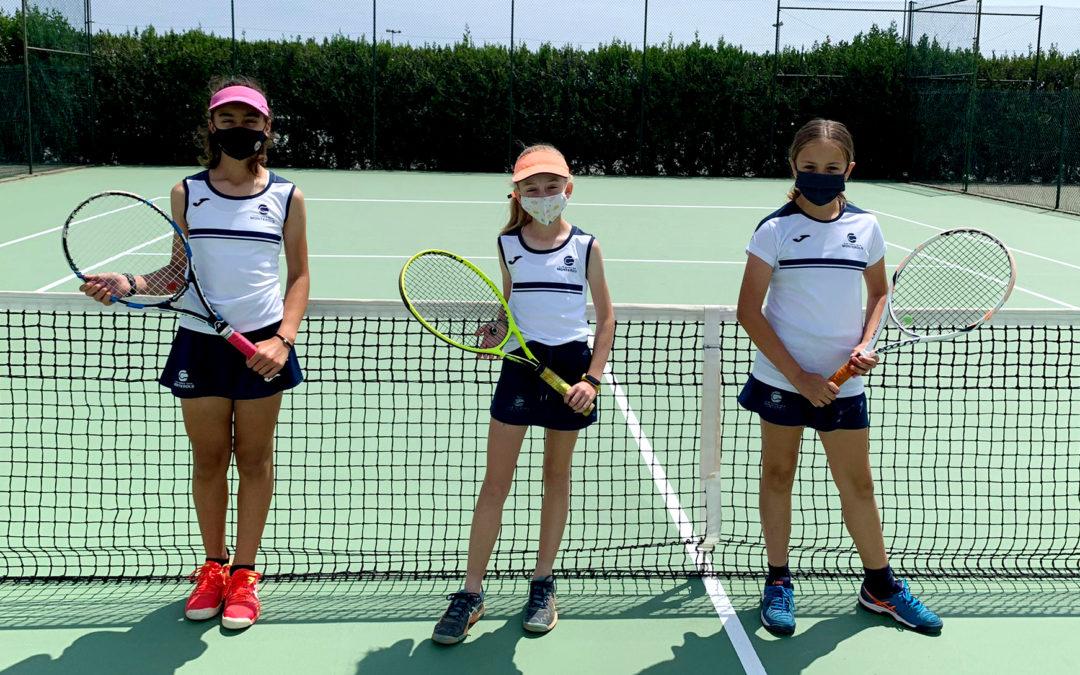 L'Infantil Femení B empata contra el CT Lleida en la Lliga Catalana de tennis