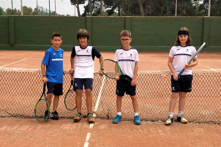 L'Aleví Masculí B s'imposa al CT Sant Salvador en la Lliga Catalana de de tennis