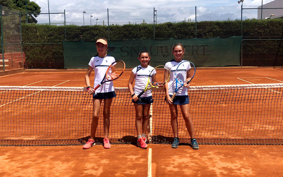 L'Aleví Femení B s'imposa al Tennis Tarragona en la Lliga Catalana de tennis