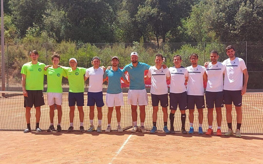 L'equip Absolut Masculí es proclama campió de Catalunya de tennis