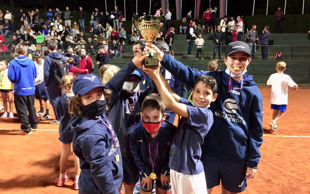 Resultats del torneig MiniCup de tennis disputat al RC Polo